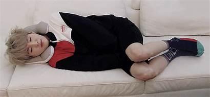 Bts Yoongi Sleeping Suga Sleep Min Position