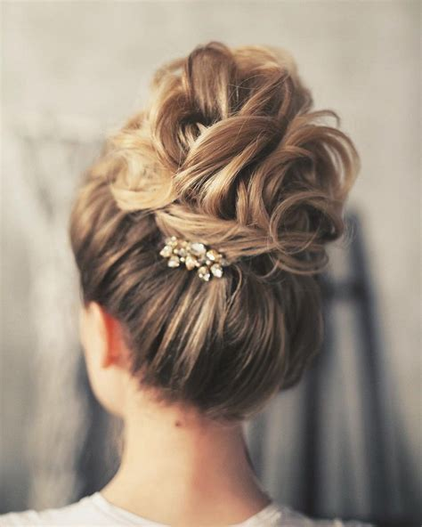 ideas  wedding updo  pinterest prom hair