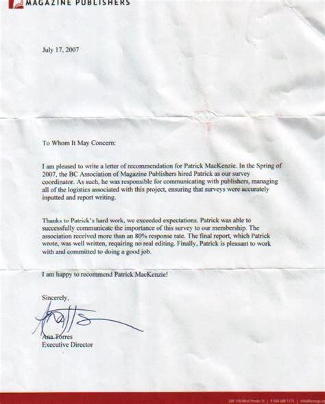 five year nursing cover letter recommendation letter sle for nursing program free
