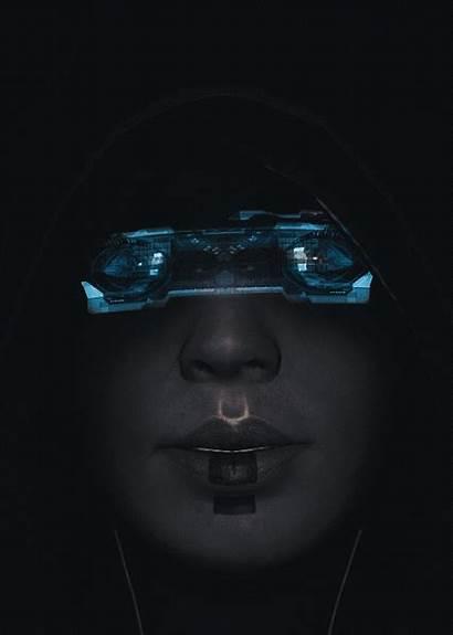 Cyberpunk Sci Fi Effect Futuristic Mass Superhighway