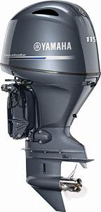 More New Outboard News  Yamaha F115 Is Lighter  Quieter