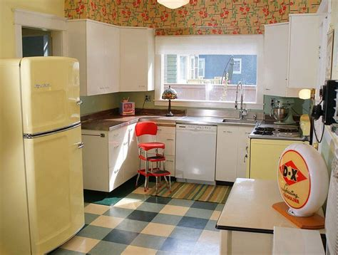 deco vintage cuisine la cuisine retro vintage garantit un véritable