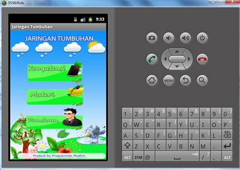 aplikasi jaringan tumbuhan berbasis android programmer