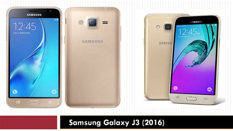 Samsung Galaxy J3 (2016) Specifications Features And Price