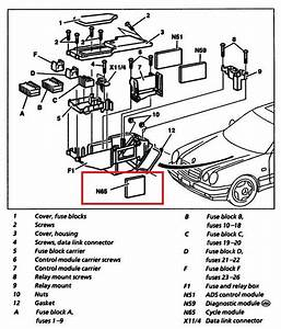 1997 Mercedes E420 Engine Diagram