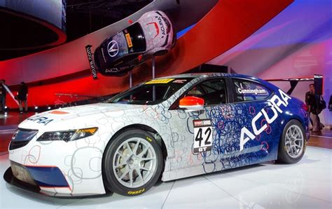 acura tlx gt racecar boosts  tlx launch  hp