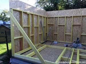 Construire Une Extension En Bois Soi Même : construction atelier bois part4 atelier passion du bois ~ Premium-room.com Idées de Décoration