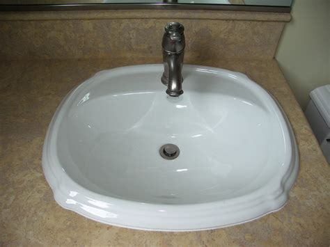 overmount kitchen sink undermount versus overmount bathroom remodel 1340