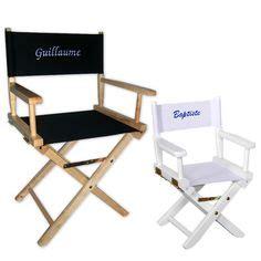 chaise metteur en sc ne b b 1000 images about cadeau thème cinéma on