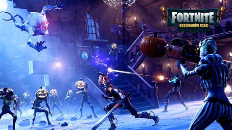Scena z gry komputerowej Fortnite - Koszmarów Czar
