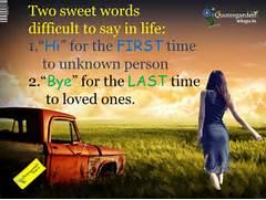 quotes   QUOTES GARDEN TELUGU   Telugu Quotes   English Quotes   Hindi  Sweet Quotes On Life In Hindi