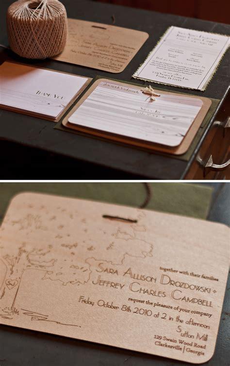 Laser Etched Wood Veneer Wedding Invitations  Bored Panda. Gaelic Wedding Rings. Geraud Wedding Rings. Bespoke Wedding Rings. Black Rings