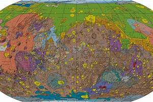 This New Map of Mars Is the Best One Ever Made - NBC News