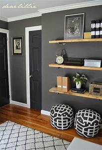 Great colors and shelving for a guy's room Benjamin Moore