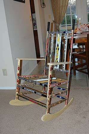 hockey stick chair woodworking blog  plans