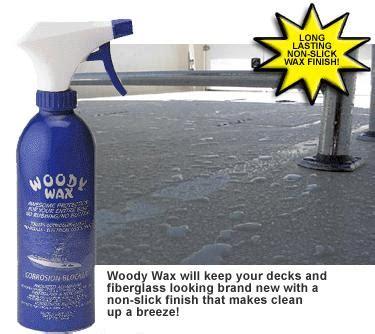 Boat Non Skid Wax by Woody Wax Ww16 Fiberglass And Non Skid Deck Wax 16oz