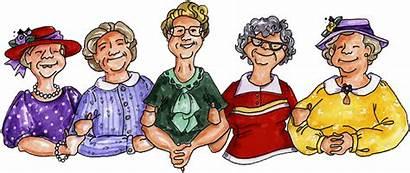 Church Ladies Sell Clip Lady Happy Birthday