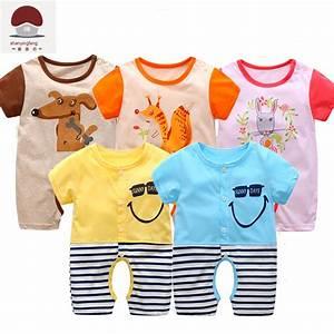 Newborn Unisex Baby Clothes Twins Cartoon Fox Clothes 0 3 ...