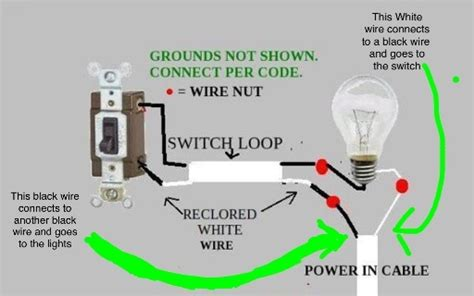 Common The Light by Is It Normal To Your Common Wire Go To Your Switch