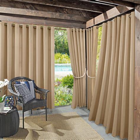 outdoor drape sun zero outdoors semi opaque birmingham 52 in by 95 in