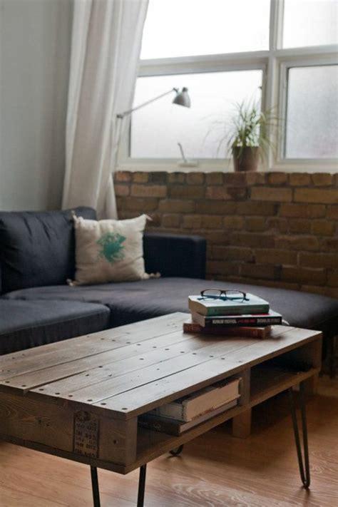 la table basse palette 60 id 233 es cr 233 atives pour la fabriquer archzine fr salons tables and