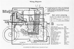 Ignition Switch Wiring Diagram 1973 Dt3 Yamaha Motorcycle