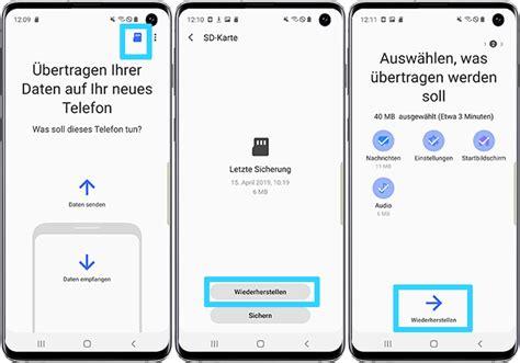daten sichern und uebertragen mit smart switch samsung