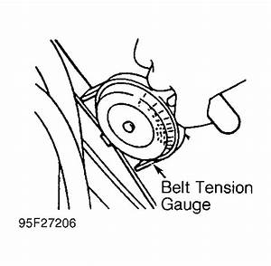 1995 Ford Windstar Serpentine Belt Routing And Timing Belt