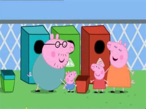 peppa pig full episode recycling youtube