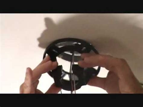 How Install Ceiling Fan Mounting