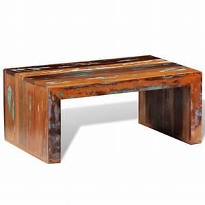 Table Basse En Bois De Rcupration Vintage Achat