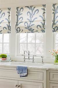 beach house with coastal interiors home bunch interior With kitchen roman shades