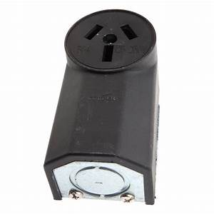 Wall Receptacle With Crowfoot  220