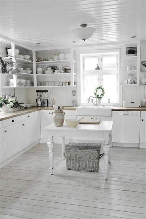 white farmhouse kitchen design homemydesign
