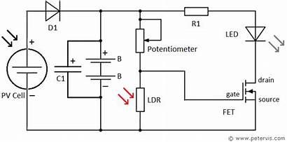 Diagram Wiring Cell Solar Circuit Garden Circuits