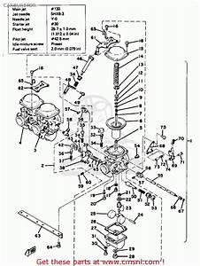 Yamaha Xs750s 1978 Usa Canada Carburetor