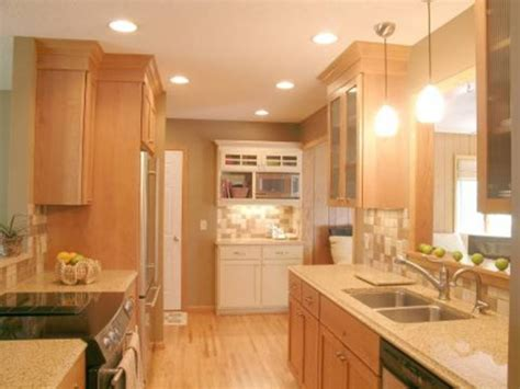galley kitchens ideas small galley kitchen decorchic kitchen design and decoration with galley kitchen lighting