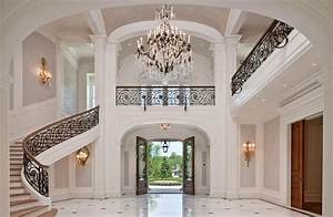 Grand Foyer and Staircase | Staircases, Foyers, and Entry ...