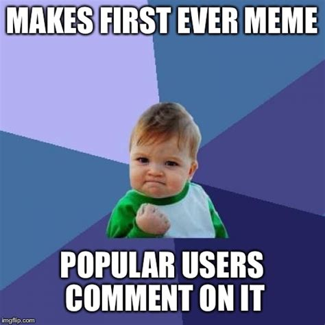 Success Meme Generator - success kid meme imgflip