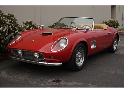 1961 250 Gt California For Sale by 1961 250 Gt California Spyder For Sale Gc 8270