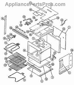 Parts For Magic Chef 9815vuv  Oven    Body Parts