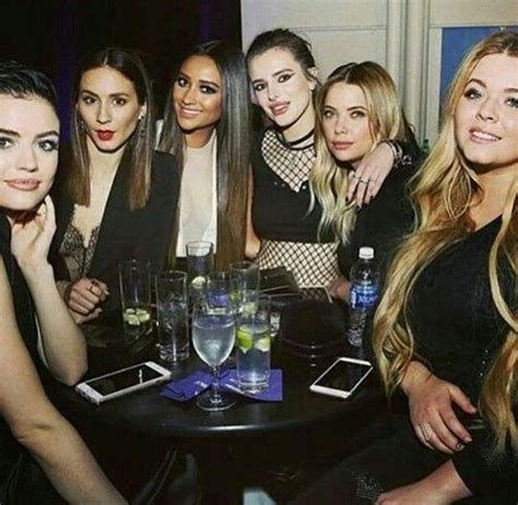 Sasha Pieterse ♡ Shay Mitchell ♡ Lucy Hale ♡ Troian ...