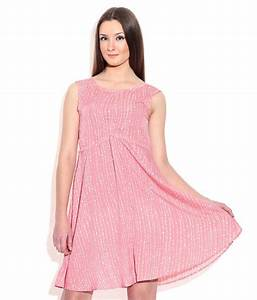 Buy Chemistry Pink Polyester Dress Online at Best Prices ...