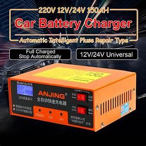 New Anjing Aj 24v 150ah Car Battery Charger