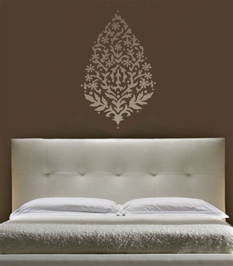 stencil designs for walls sari paisley wall stencil large reusable stencils for