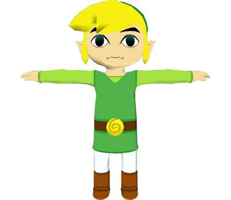 Gamecube The Legend Of Zelda The Wind Waker Link