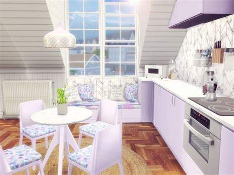 sims resource pastel kitchen  sooky sims  downloads