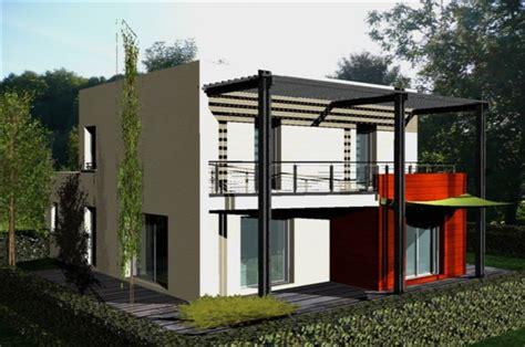 maison de ville moderne maison de ville moderne toit plat