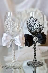 ideas for wedding diy wedding chagne glasses ideas