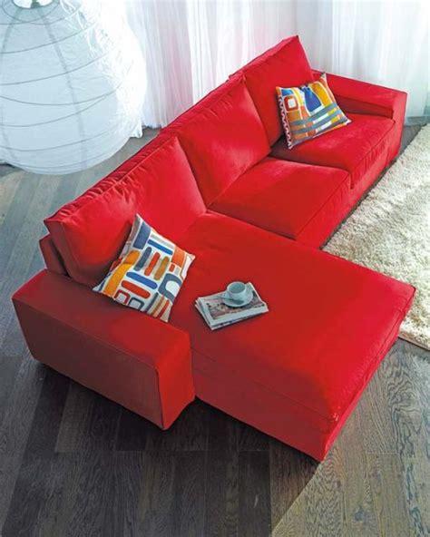 sofa vermelho como decorar 60 salas sof 225 vermelho incr 237 veis modelos como